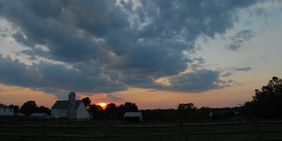 Sunset Photograph by Eva Ramanuskas