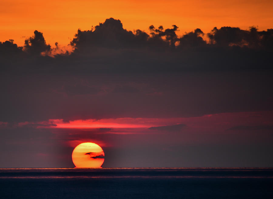 Cape San Blas Photograph - Sunset Face by Becky Portwood