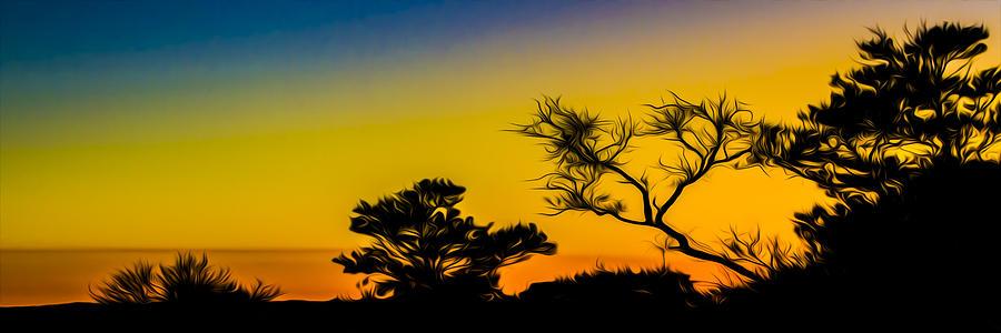 Florida Photograph - Sunset Fantasy by Debra and Dave Vanderlaan