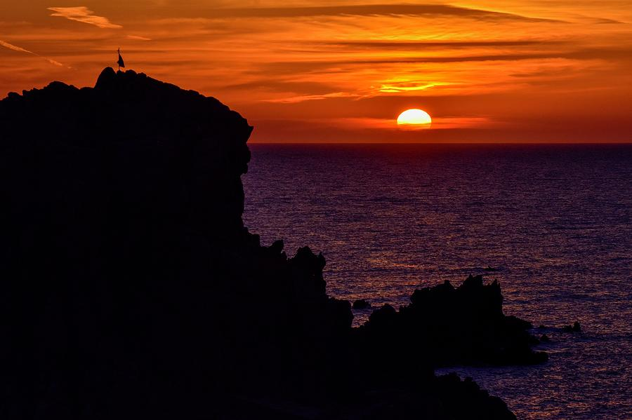 Sunset from Costa Paradiso by Geoff Smith