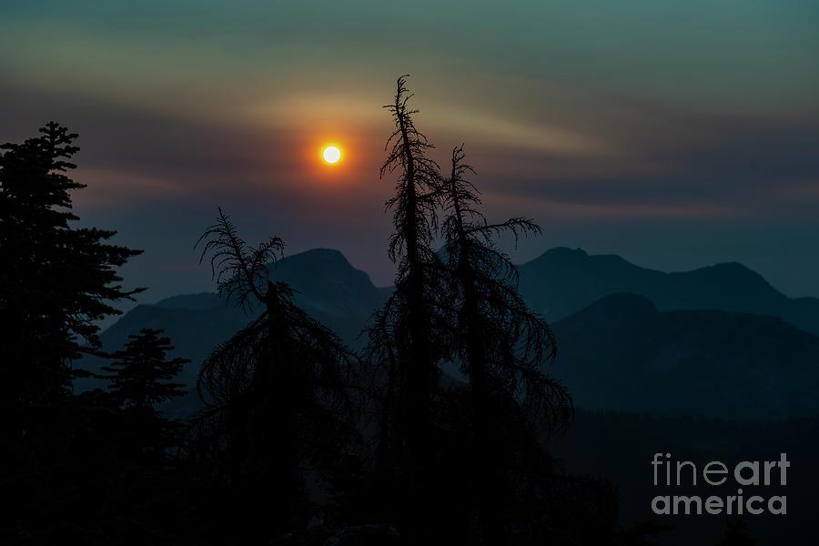 Sunset from Zupjok Ridge by Rod Wiens