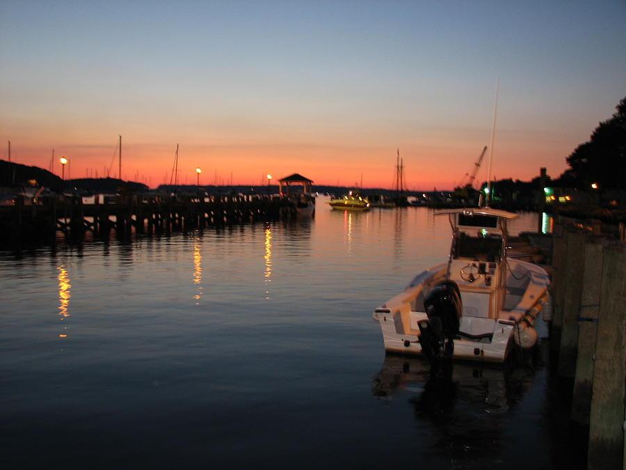 Sunset Harbor  by SJ Lindahl