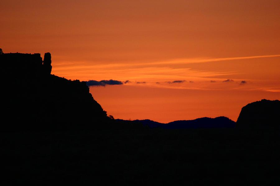 Arizona Photograph - Sunset In Arizona by Hans Jankowski