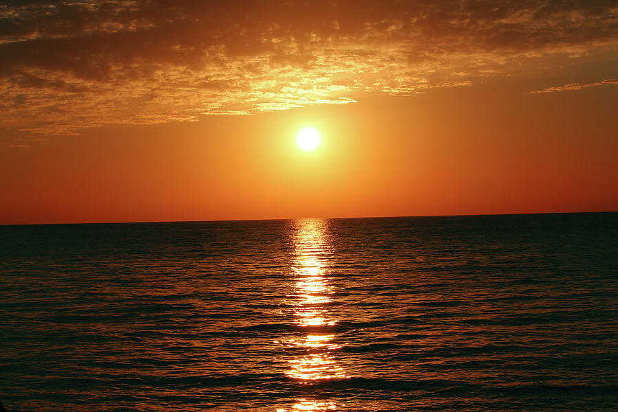 Sunset in Bimini by Samantha Delory
