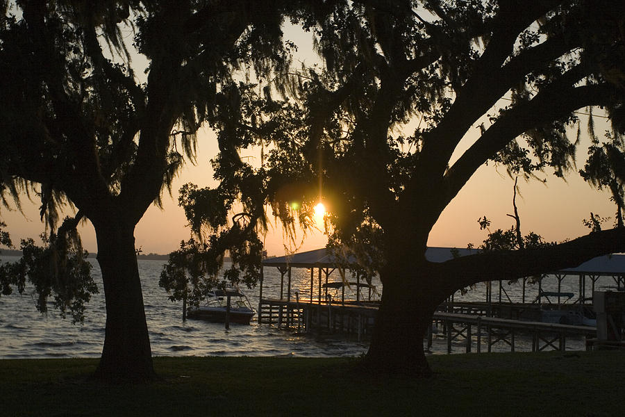 Horizontal Photograph - Sunset In Central Florida by Christopher Purcell