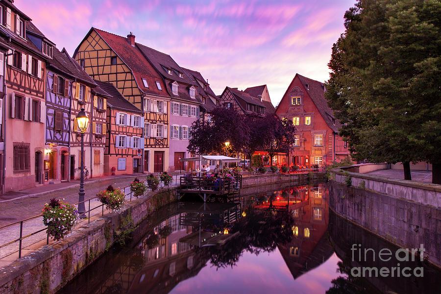 Colmar Photograph - Sunset In Colmar by Brian Jannsen