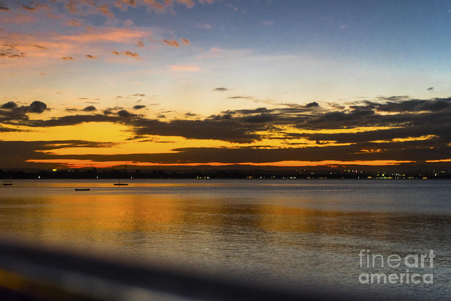 Sunset Photograph - Sunset In Dar by Pravine Chester