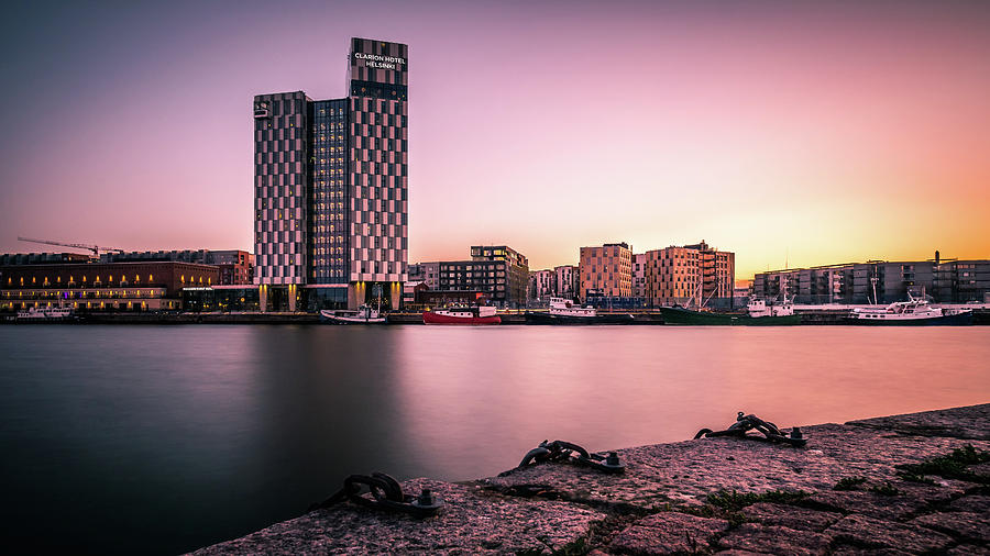 092d40a9ad5 Architecture Photograph - Sunset In Helsinki - Finland - Cityscape  Photography by Giuseppe Milo