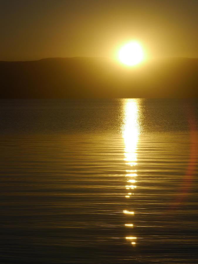 Okanagan Photograph - Sunset in January by Trance Blackman