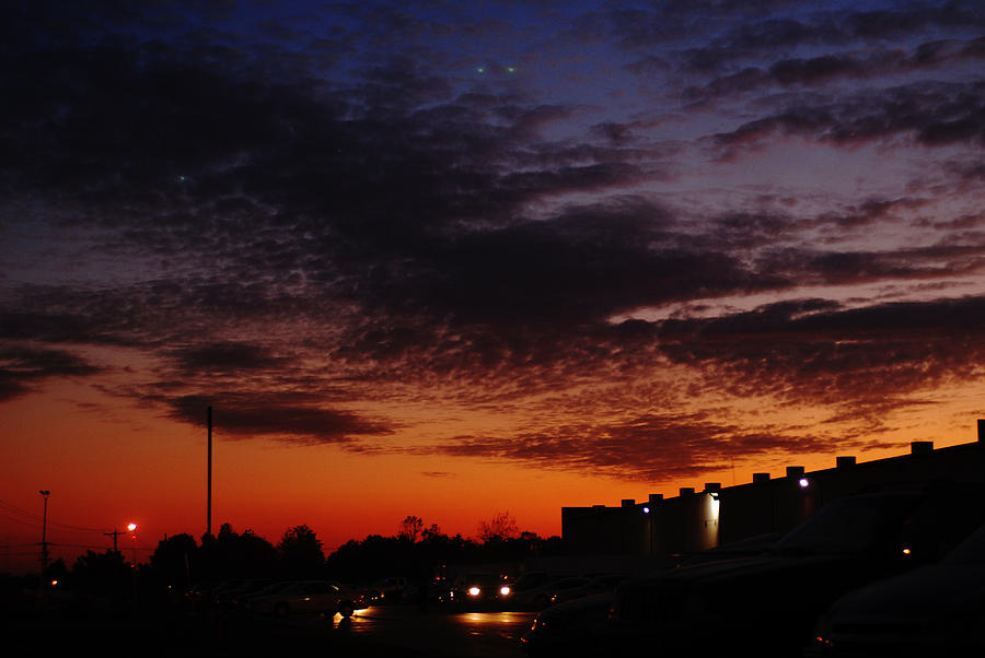 Sunset Photograph - Sunset In Lexington 1 by Steven Crown