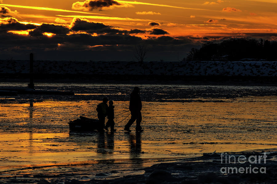 Sunset in Port Colborne by JT Lewis