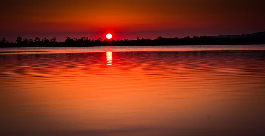 Sunset Photograph - Sunset In Spain by Victor Vega