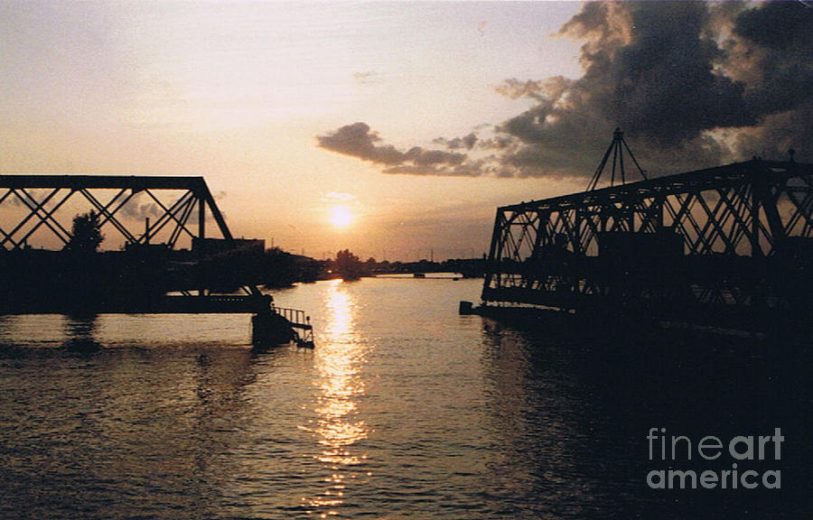 Superior Photograph - Sunset In Superior Wi by Tommy Anderson