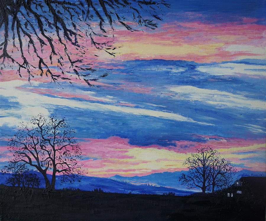 Sunset in the Country by Lisa Rose Musselwhite