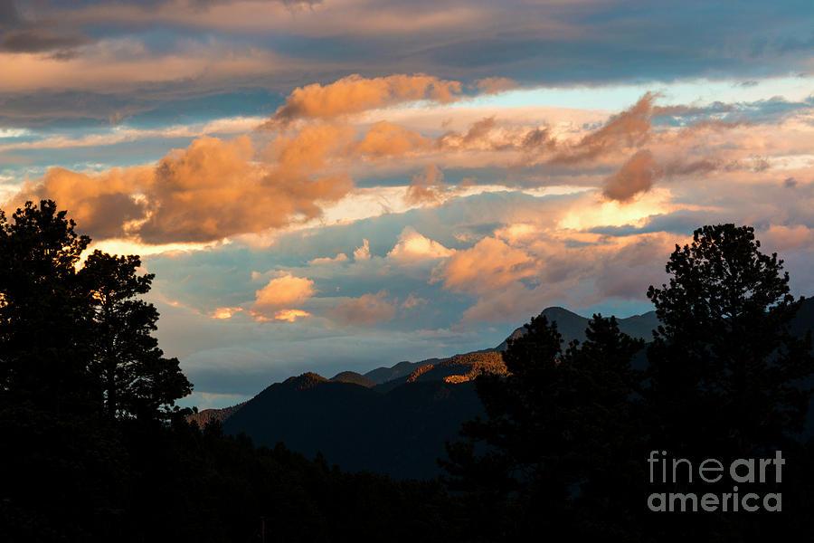 Sunset In Ute Pass Photograph