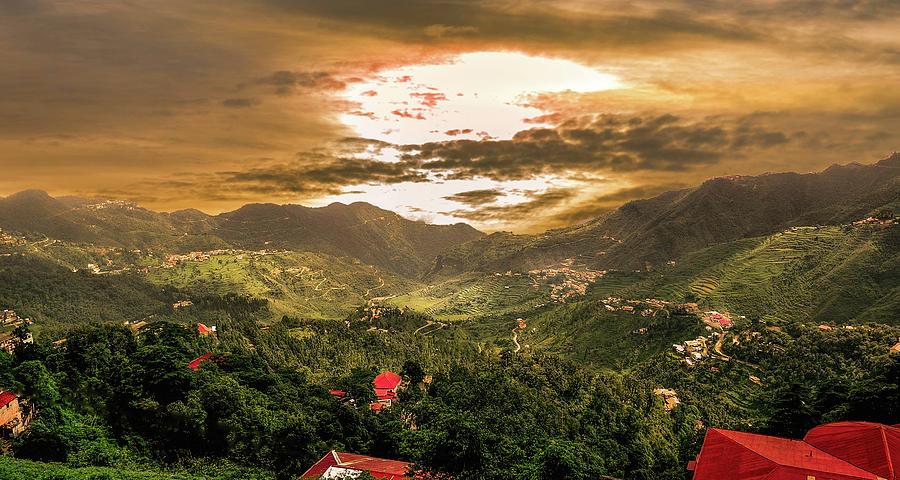Rishikesh Photograph - Sunset In Valley  by Manjot Singh Sachdeva