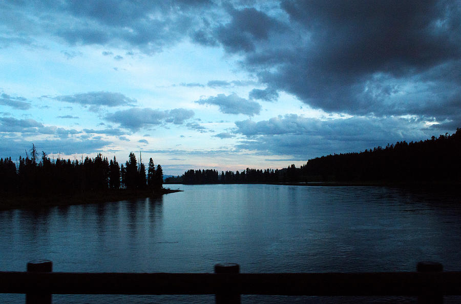 Clouds Photograph - Sunset In Wyoming by Linda Kerkau