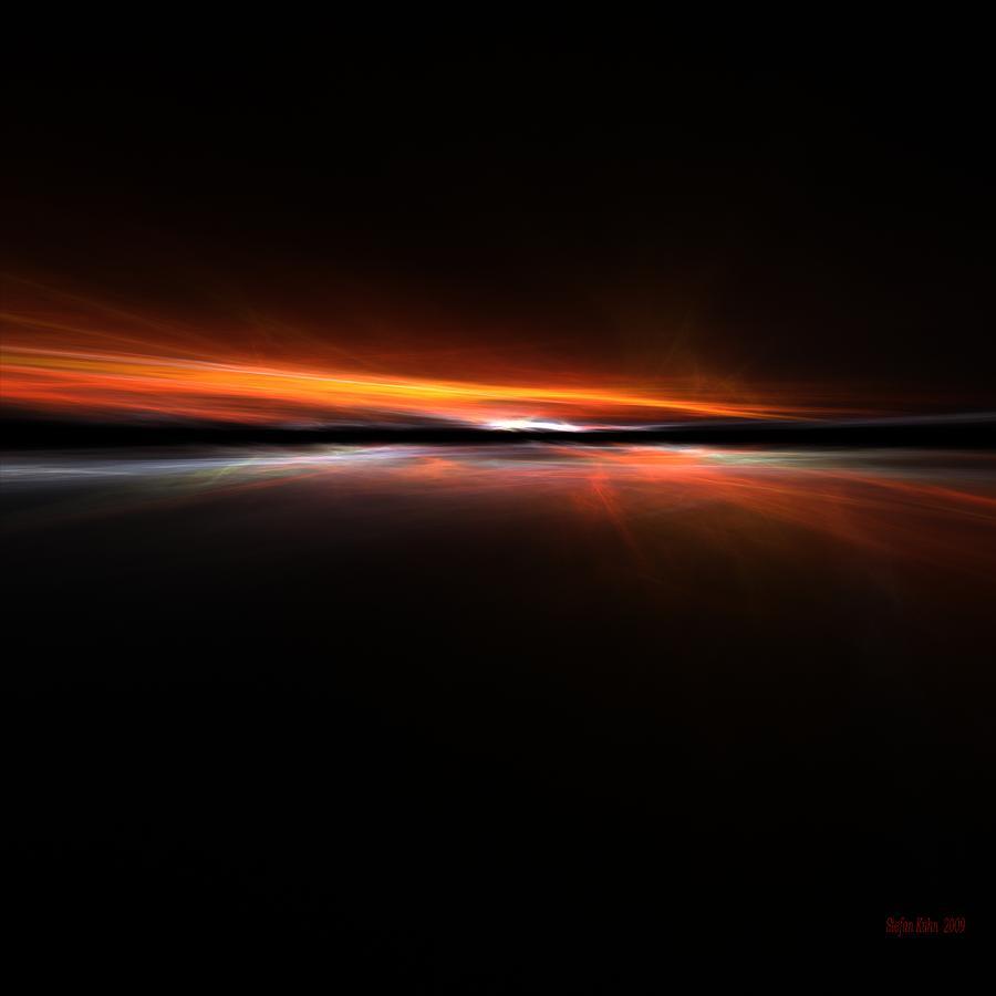 Sunset Island Digital Art by Steve K