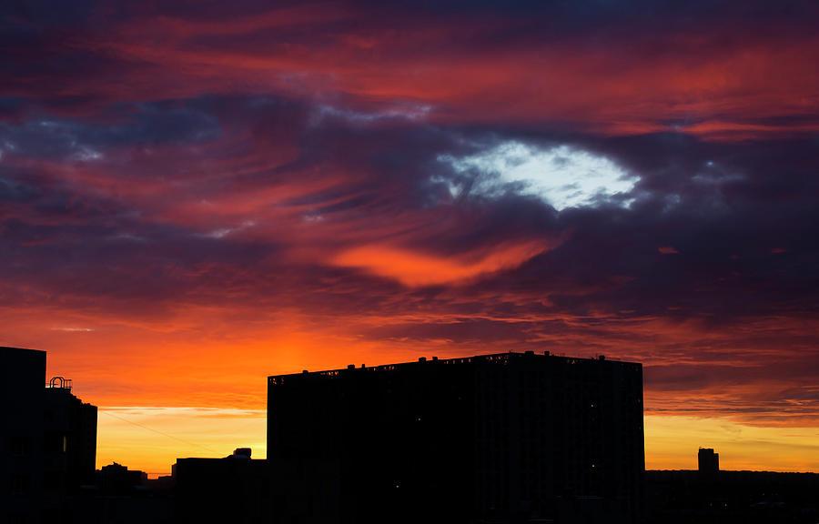 Sunset Photograph - Sunset by Konstantin Bibikov