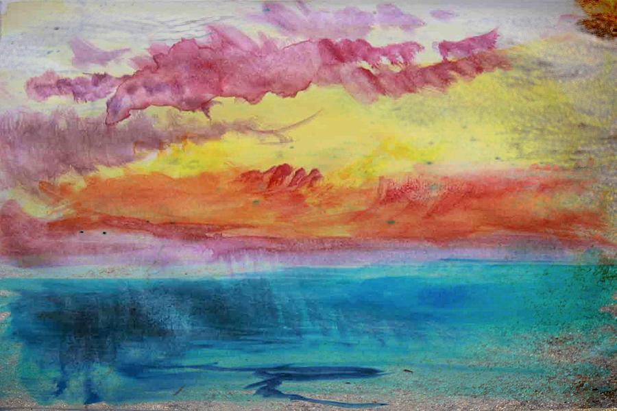 Sunset Lagoon Digital Art by Robert Grubbs