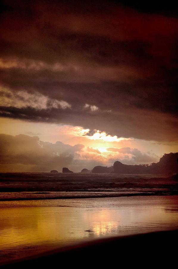 Sun Photograph - Sunset by Mario Bennet