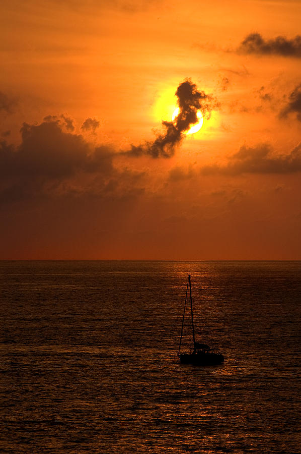 Sunset Mexico Photograph by Xavier Cardell