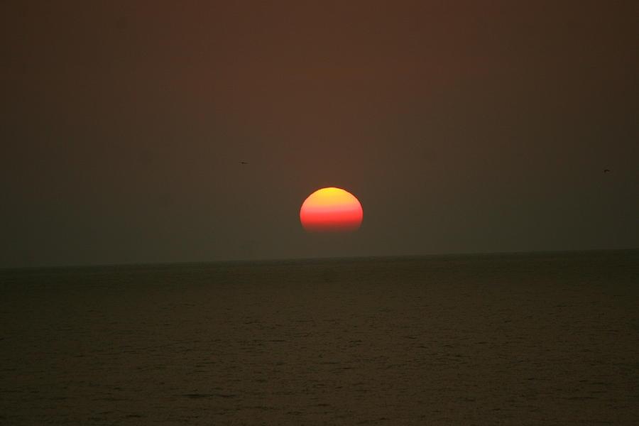 Sun Photograph - Sunset by Morgann Hext
