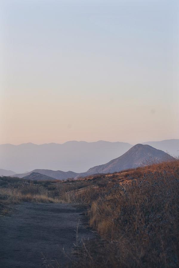 Mountain Photograph - Sunset Mountains  by Sarah Kirby