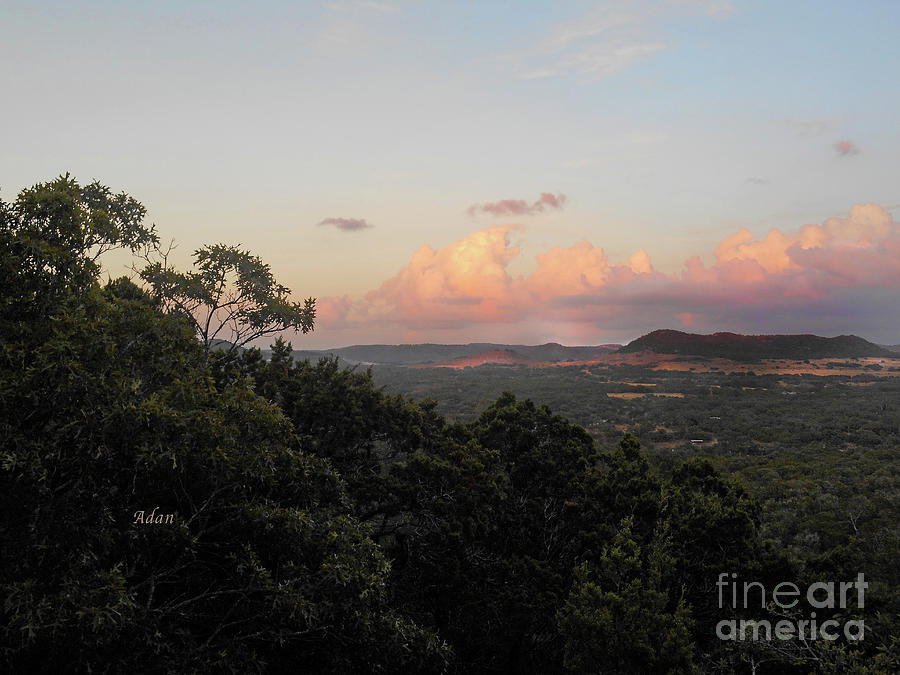 Texas Hill Country Photograph - Sunset Near The Fig Preserve - Three by Felipe Adan Lerma