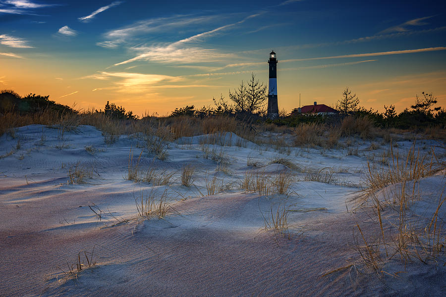 Fire Island Photograph - Sunset On Fire Island by Rick Berk