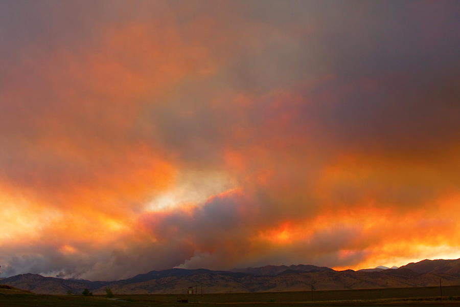 Colorado Photograph - Sunset On Fire by James BO  Insogna