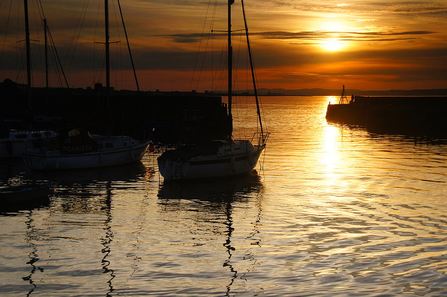 Sony Photograph - Sunset On Fisherrow by Nik Watt