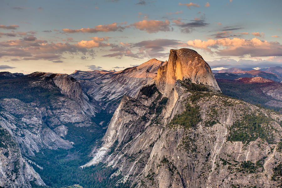 Sunset on Half Dome by Adam Mateo Fierro