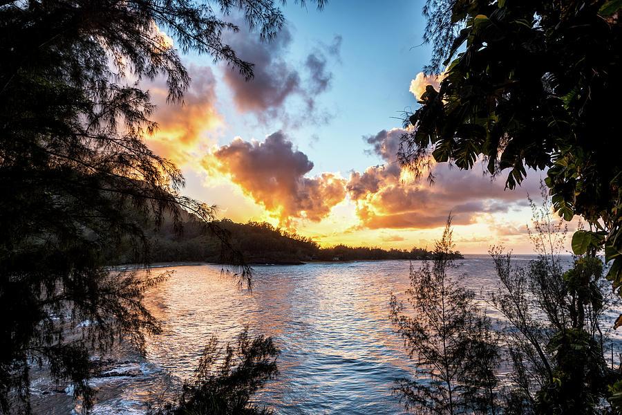Sunset On Kauai Photograph