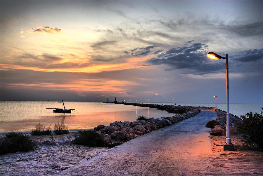 Kerkennah Photograph - Sunset On Kerkennah Island by Aleksey Napolskih