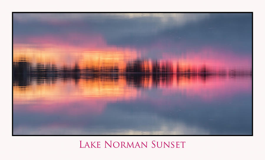 Sunset on Lake Norman by Ronald Santini