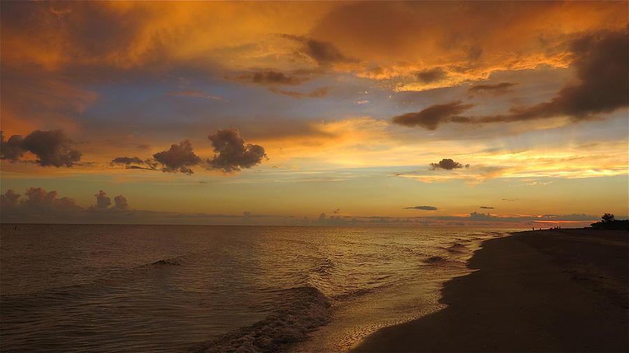 Sunset On Sanibel Island Photograph