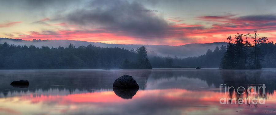 Sunset on Sheomet by John Sandiford