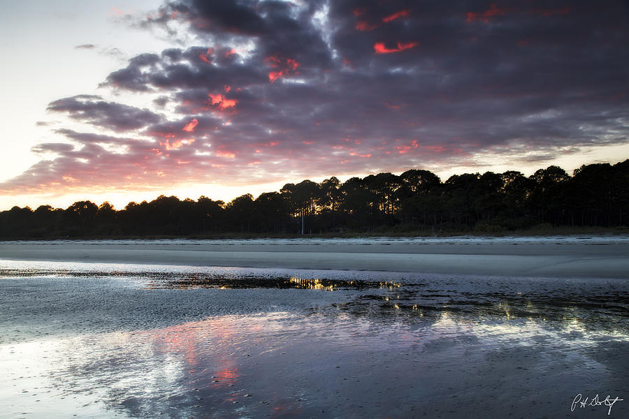 Atlantic Ocean Photograph - Sunset On South Forest by Phill Doherty