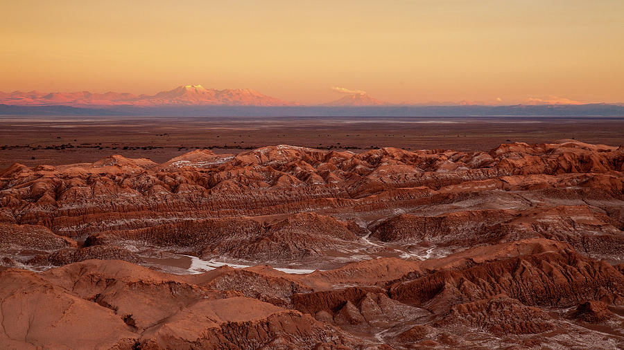 Sunset on the Andes by Stephen Dennstedt