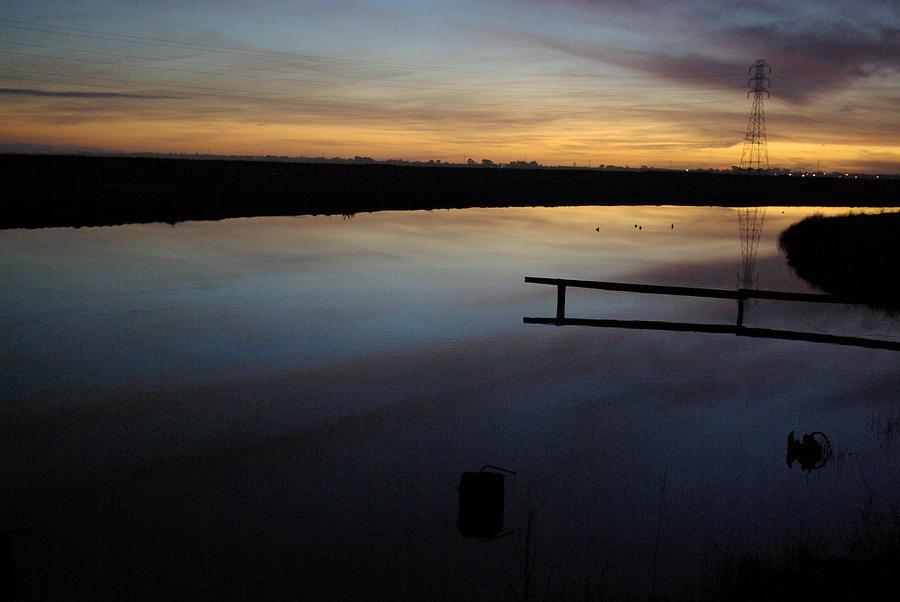 Landscape Photograph - Sunset On The Bay by JD Schaefer