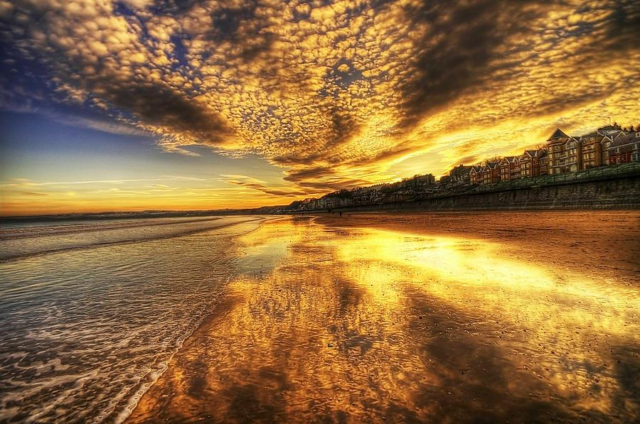 Sunset Photograph - Sunset On The Beach by Svetlana Sewell