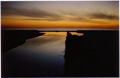 Evening Photograph - Sunset On The Canal by Phil Kunin