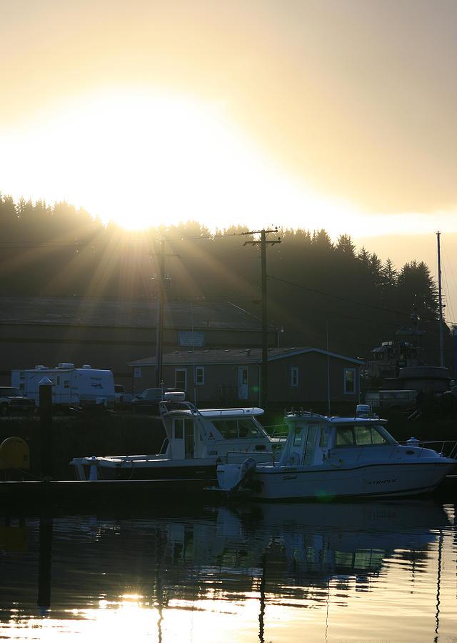 Sunset Photograph - Sunset On The Docks by Joshua Sunday