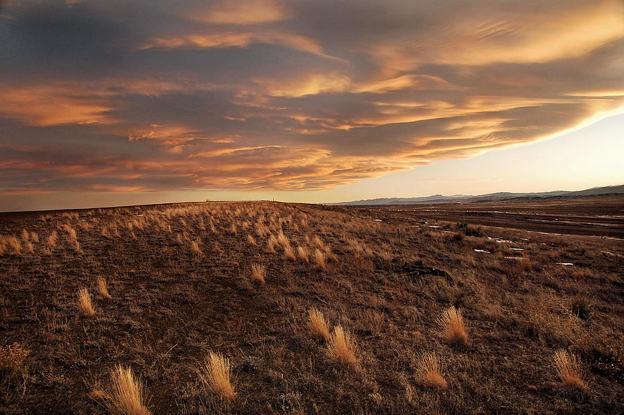 Sunset On The Ridge Photograph by James Steele