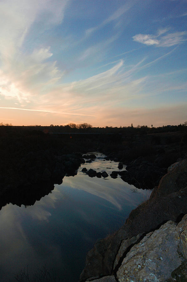Sunset On The River Photograph by Brigid Nelson