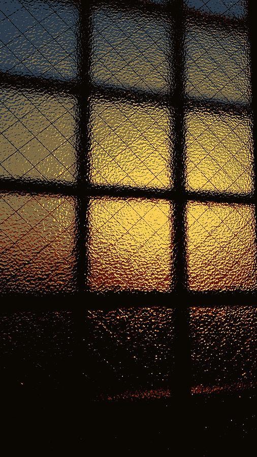 Sunset Digital Art - Sunset orange by Kumiko Izumi