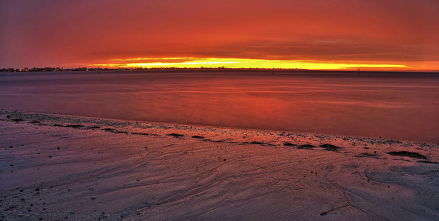 Anna Maria Island Photograph - Sunset Over Anna Maria Island by Jim Dohms