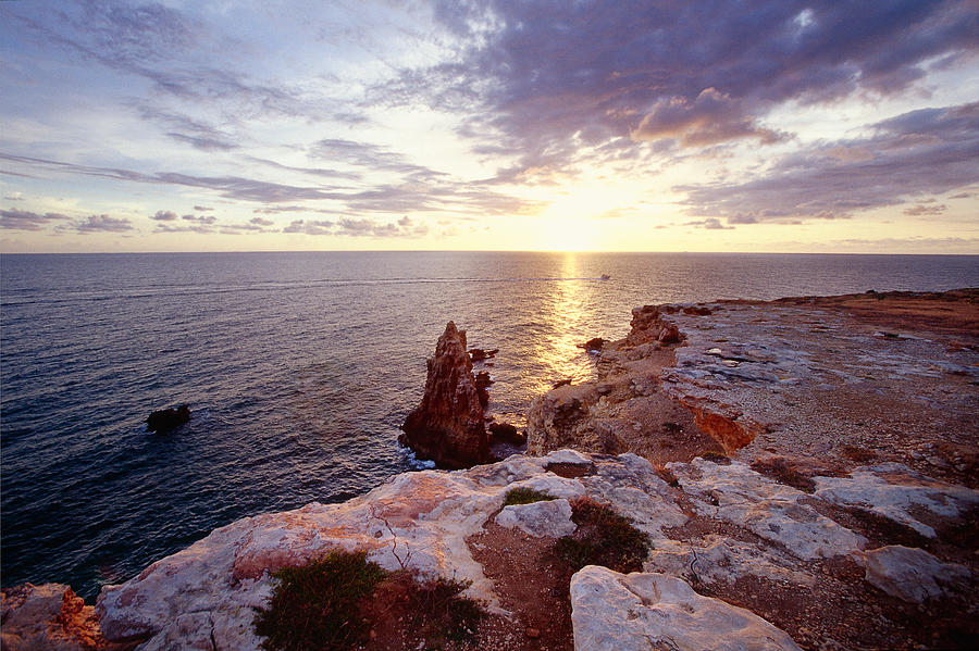 Cabo Rojo Photograph - Sunset Over Cabo Rojo Puerto Rico by George Oze