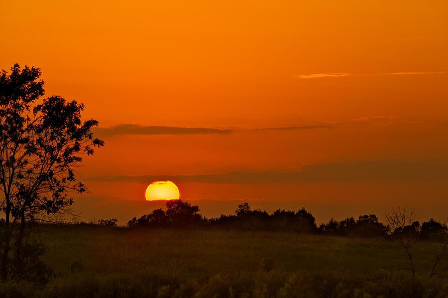 Cloud Photograph - Sunset Over Horicon Marsh by Steve Gadomski